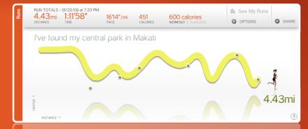 4.43 miles