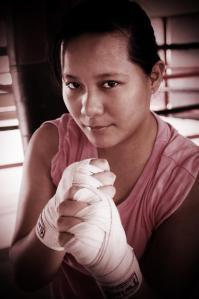 Boxing at the Ring