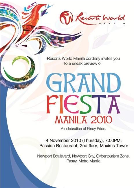 Grand Fiesta Manila 2010 Run