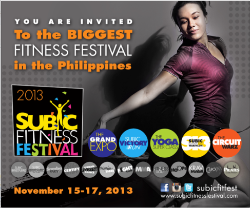 Subic Fitness Festival Poster